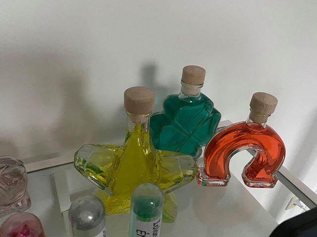 Fioles bouteille