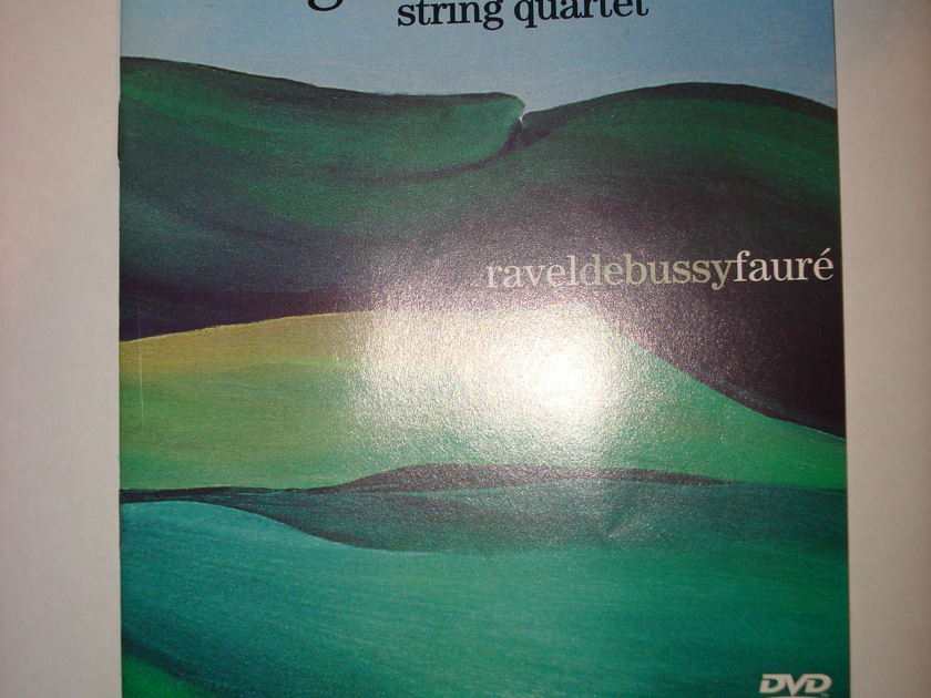 GUARNERI STRING QUARTET - RAVEL DEBUSSY FAURE DVD AUDIO
