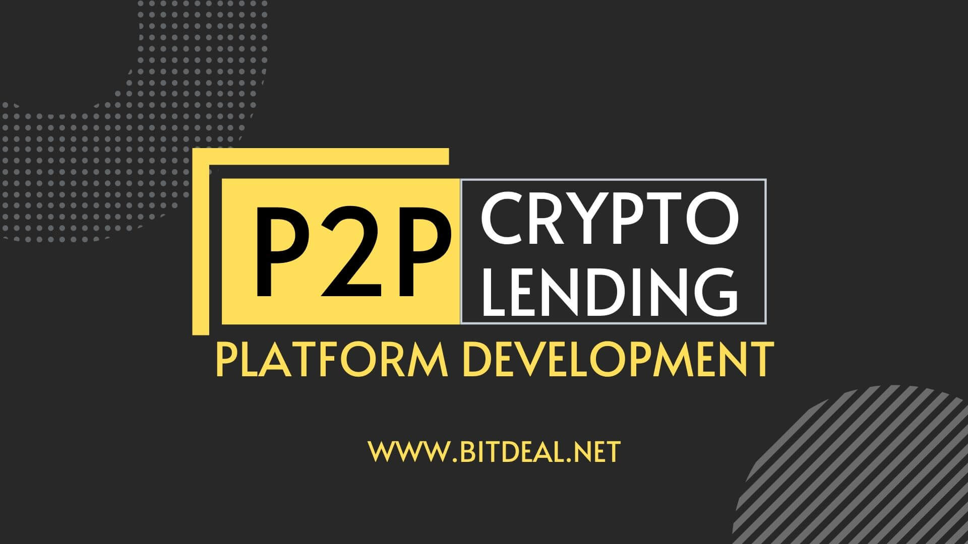 cryptocurrency p2p lending