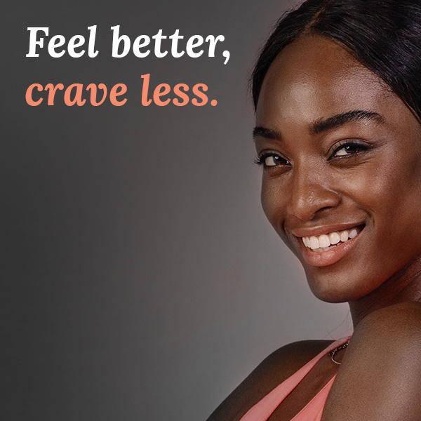 feel better, crave less