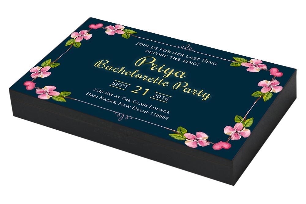 Floral Bachelorette party Invitation