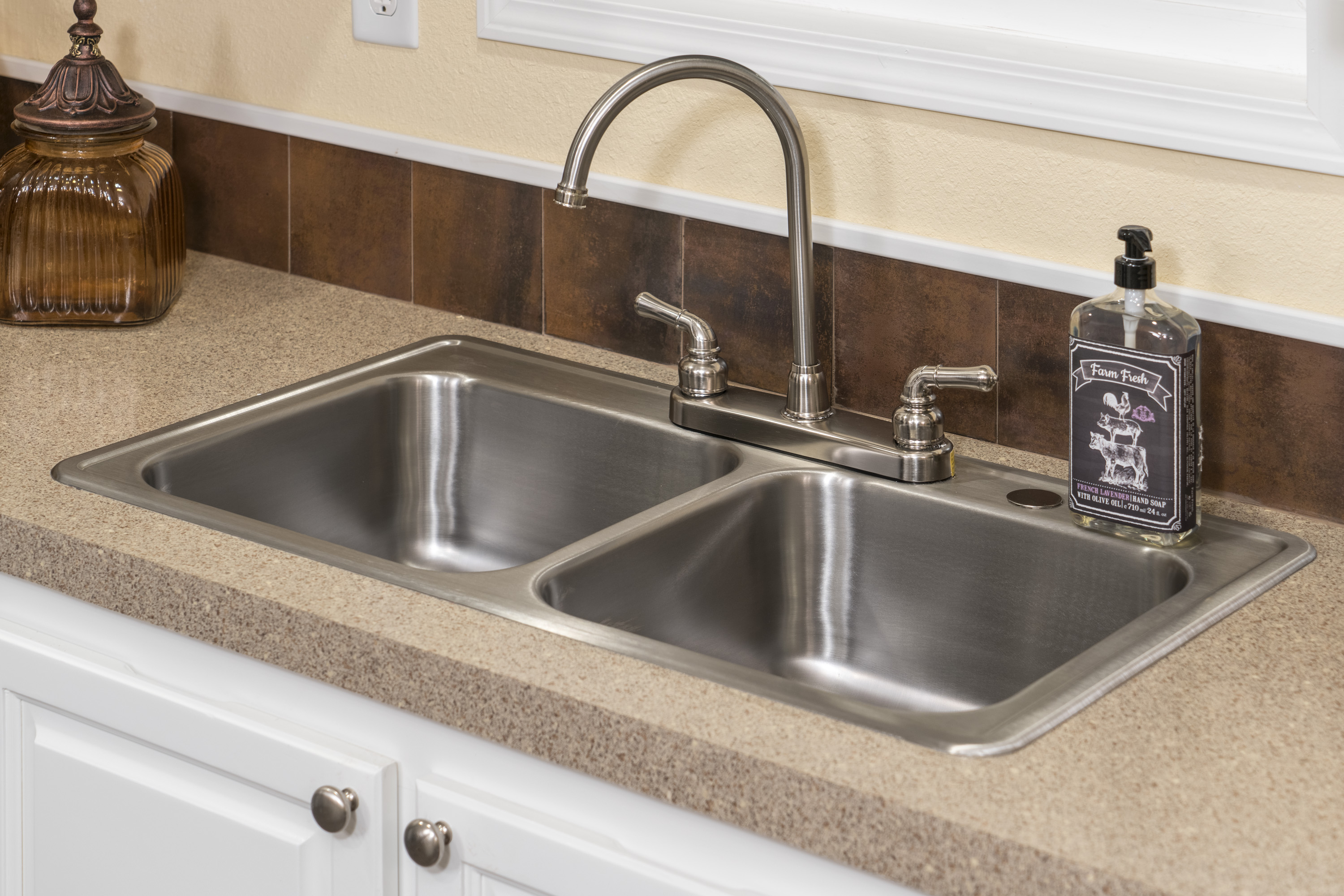 mobile home stainless steel sink