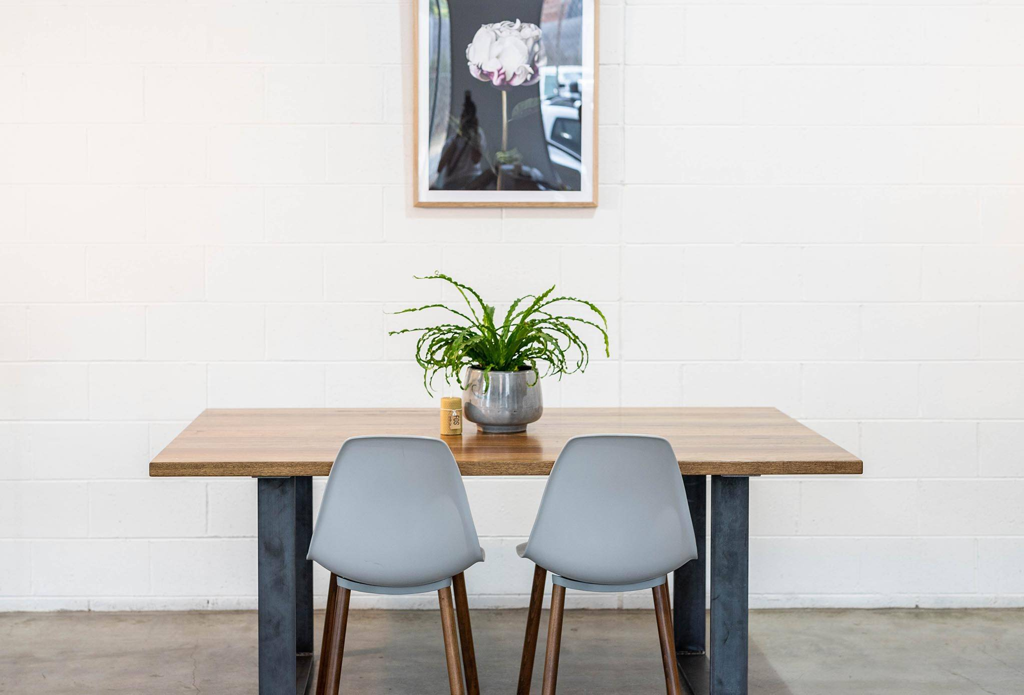 Mixed Species Dining Table Stained