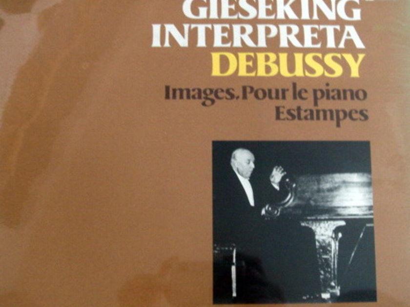 ★Sealed★ Fabri Editori /  - GIESEKING, Debussy Images!