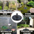 fontaine solaire bassin