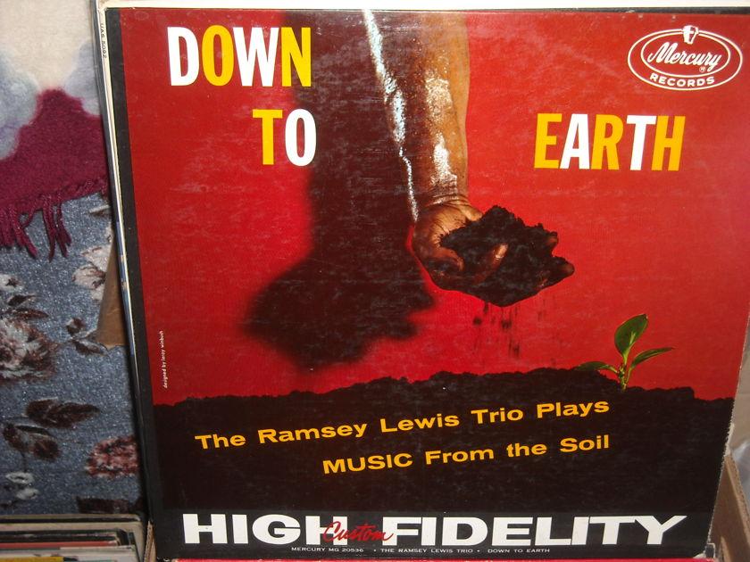 (lec) Ramsey Lewis Trio Plays - Music From The Soil Mercury  LP  (c)