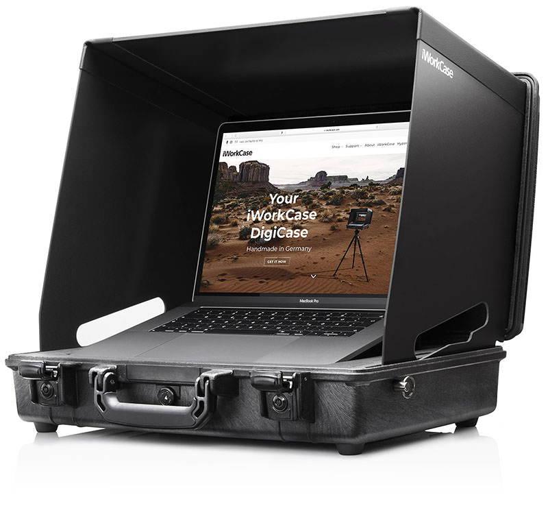 iWorkCase digital capture digicase for MacBook Pro