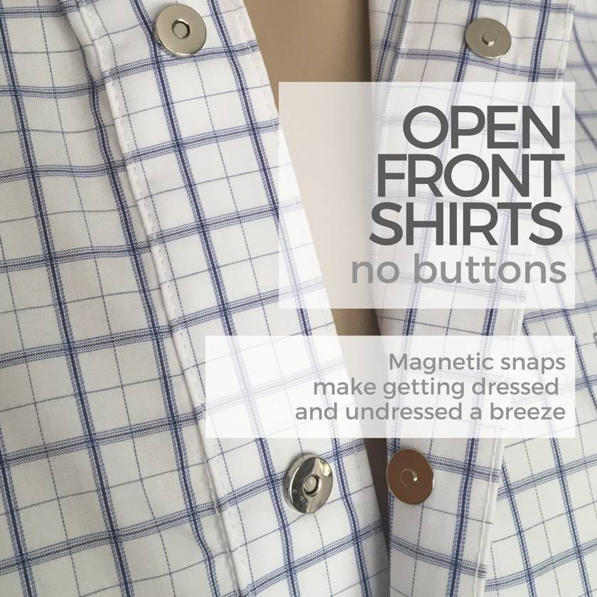 Shirts with no buttons