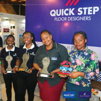 We won the First Prize at the KICC Kenya Homes Expo, again...