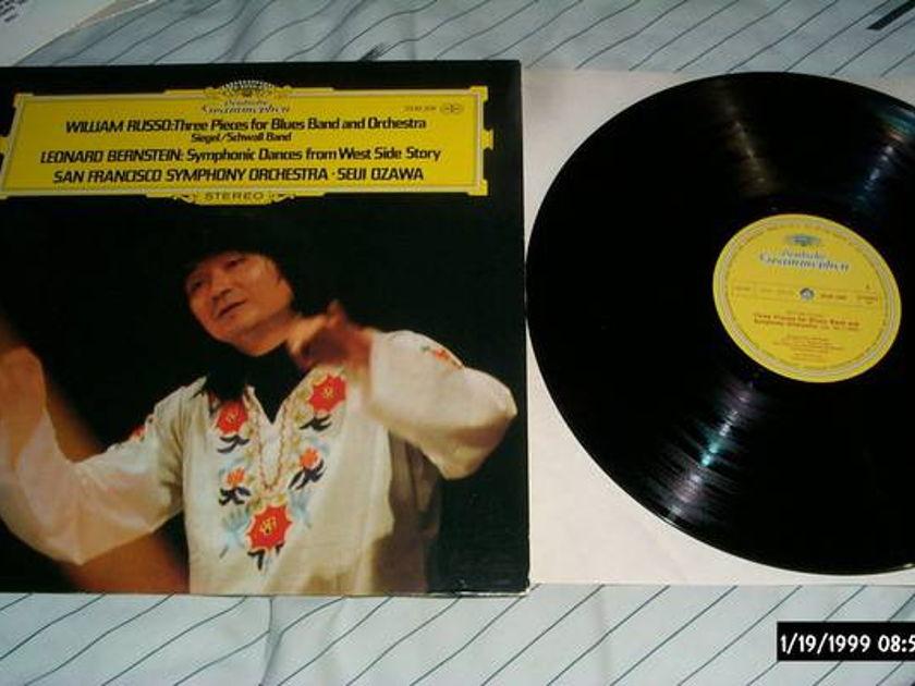 Seiji Ozawa - Three Pieces For blues band dgg lp nm
