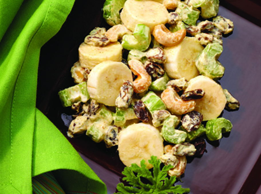 Curried Banana Salad