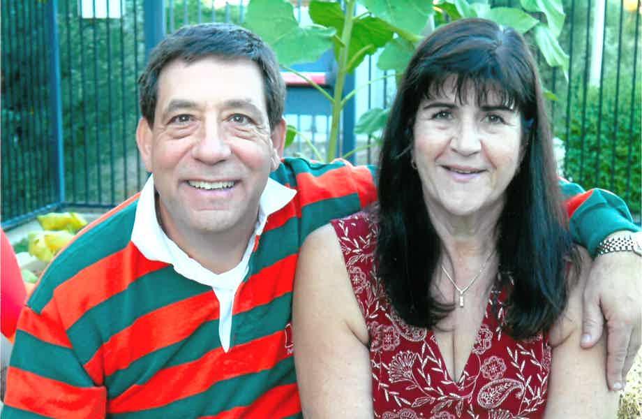 Franchise Owners of Primrose School Elizabeth and Mark Parrone