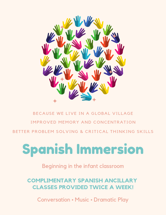 Spanish Immersion Flyer