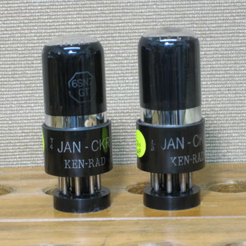 JAN-CKR- 6SN7GT VT231