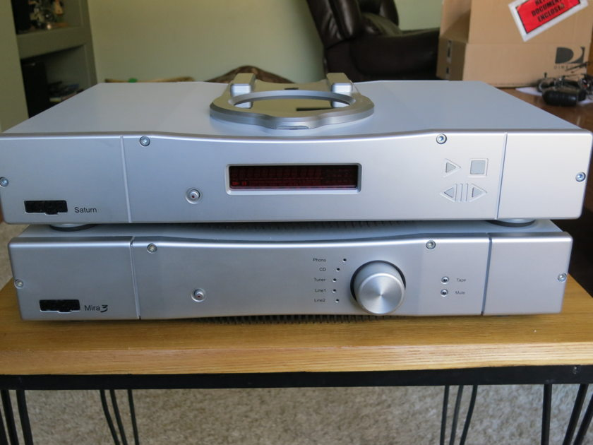 Rega Mira Integrated Amplifier - Silver Store Demo - Perfect!