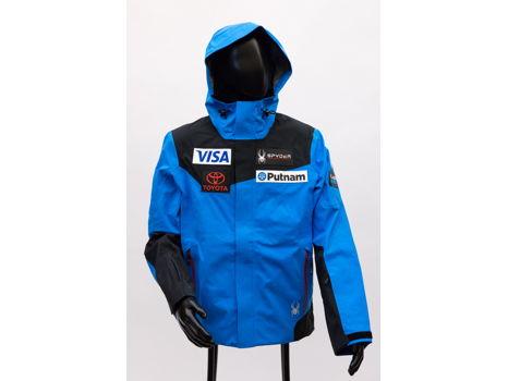 Men's Official Alpine Team Shell Jacket by Spyder, M