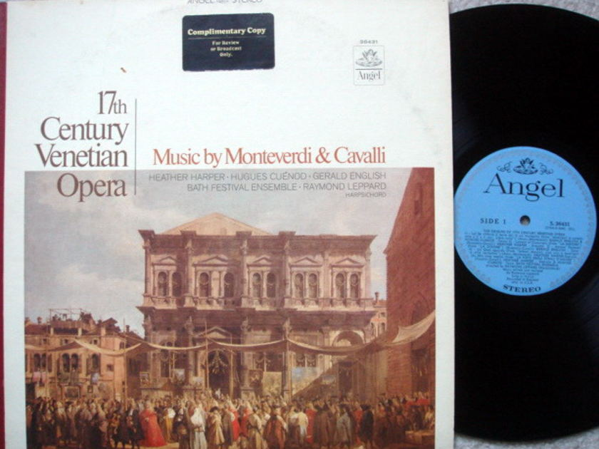 EMI Angel Blue / LEPPARD, - 17th Century Venetian Opera,  NM-, Promo Copy!