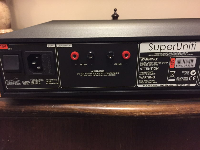 Naim SuperUniti Integrated all in one amp/streamer PRICE DROP!