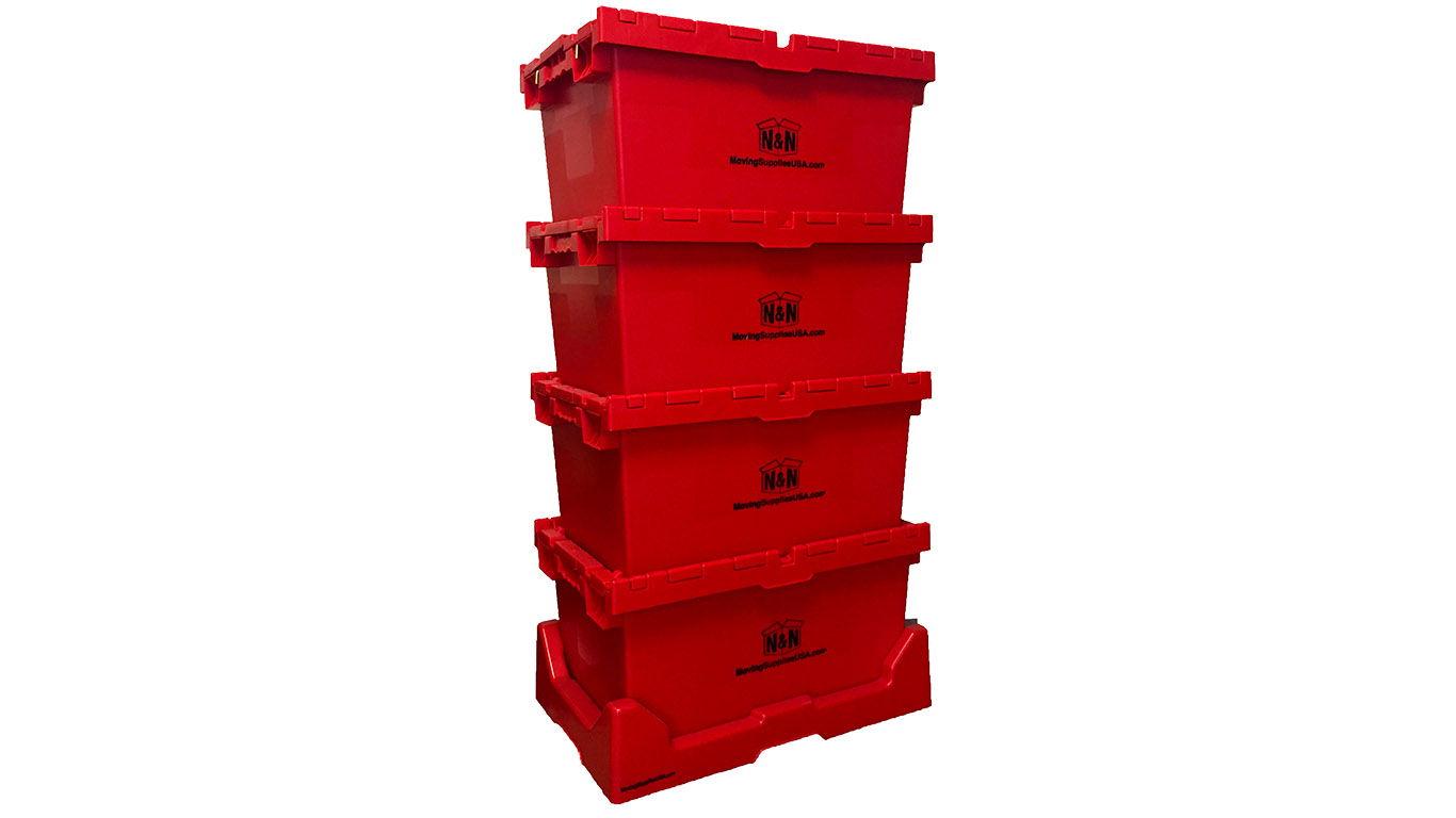 E-Crate Plastic Tote