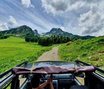 Джип-тур по Абхазии