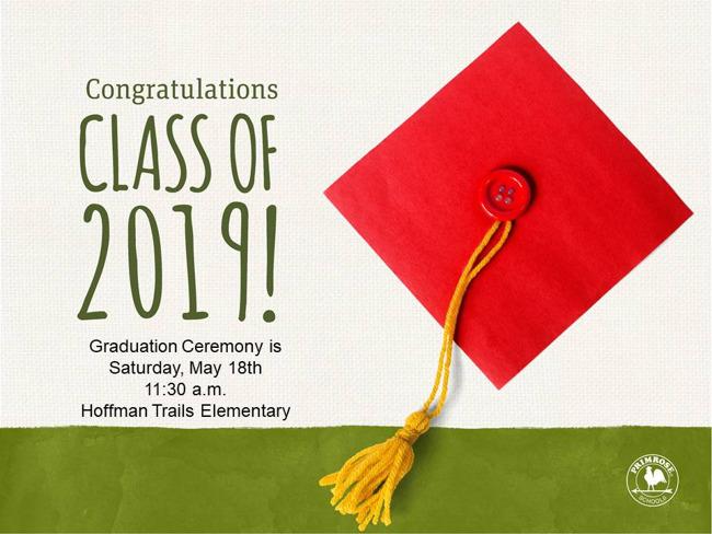 2019 Pre-Kindergarten Graduation!