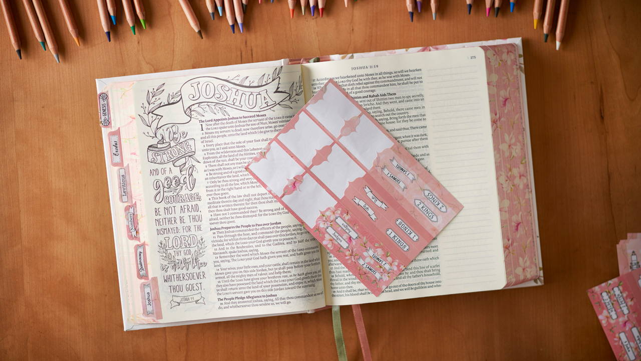 bible journaling promise bible