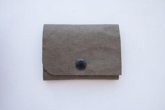 кошлек из текстильного крафта, размер 8,5*11 cm