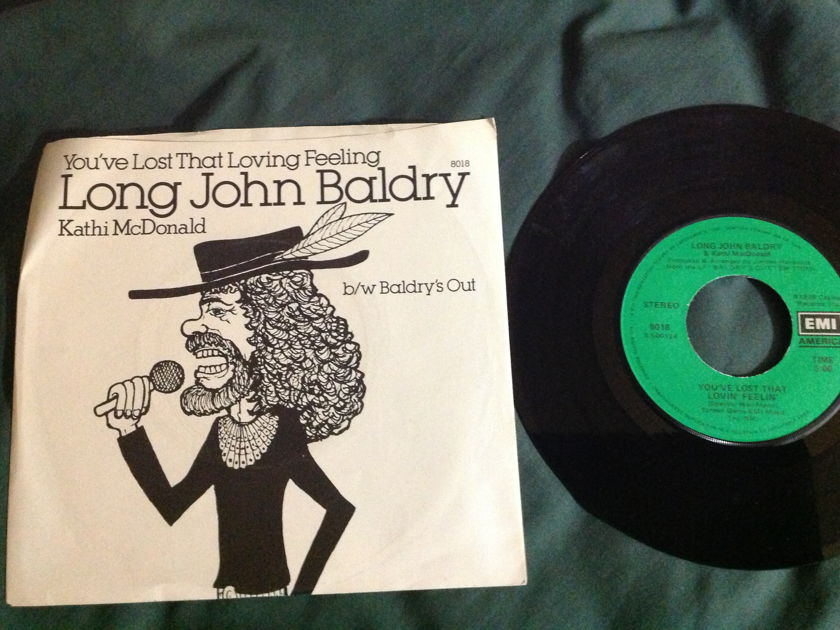 Long John Baldry - You've Lost That Loving Feeling With Kathi McDonald 45 With Sleeve