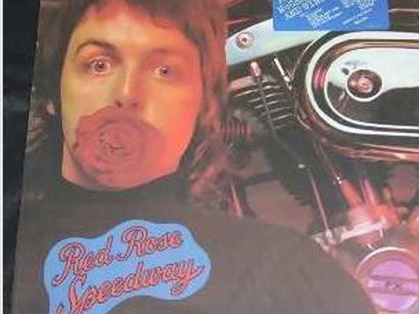 Mccartney/Wings - Red Rose Speedway nm original lp in shrink