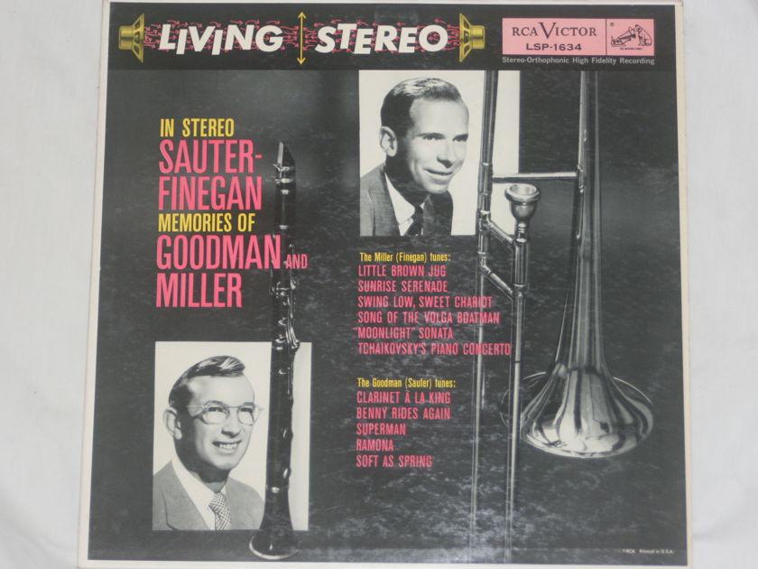 Sauter-Finegan - Memories of Goodman and Miller RCA Victor LSP-1634