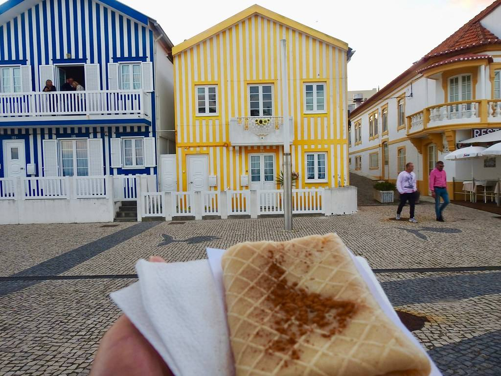 Our team picks tripa de aveiro as one of the sweet treats to try in Porto and Northern Portugal.
