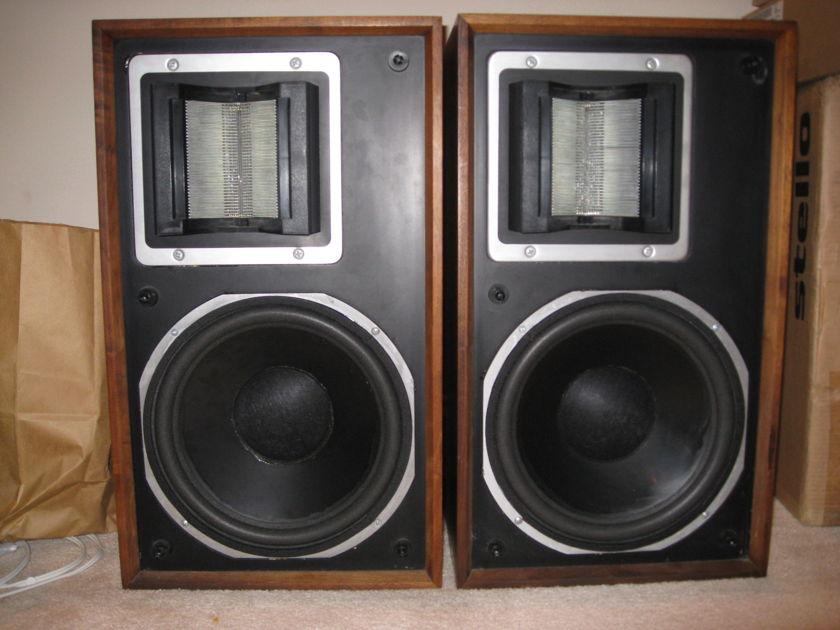 "ESS AMT-1A Bookshelve Speakers Godd condition 12"" woofer"