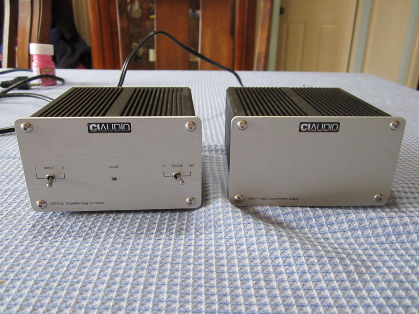 Channel Islands  VDA-2 DAC with VAC-1   External Power Supply
