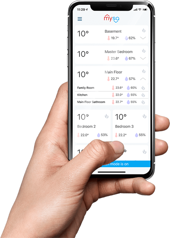 Mysa The Smart Thermostat For Electric Heaters