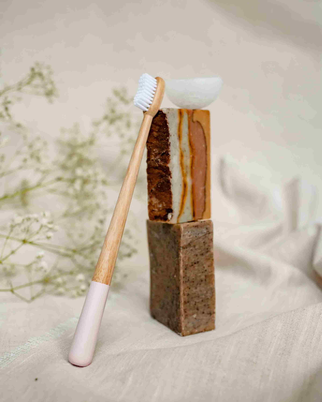 Cyclosas - Brosse à dent en bois écologique Bon pour la planète