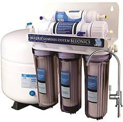 Bluonics 50 GPD 5 stage Reverse Osmosis Undersink RO