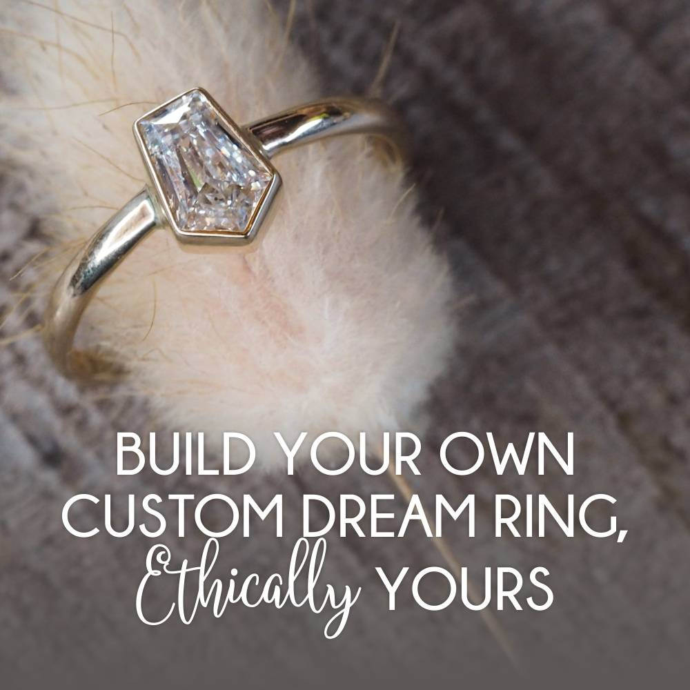 How to make your own custom ethical gold ring.