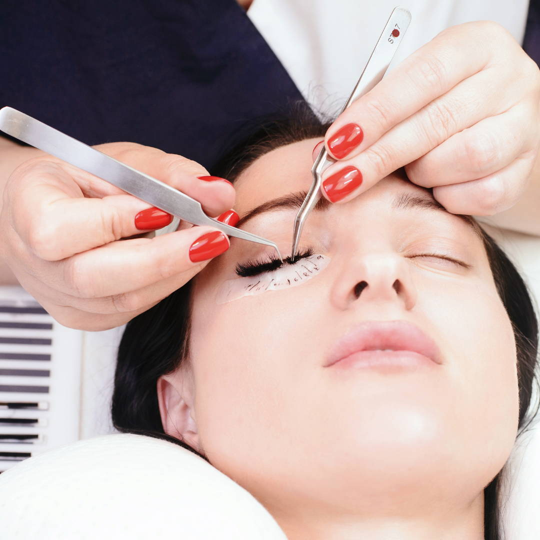 Volume eyelash extensions Brisbane