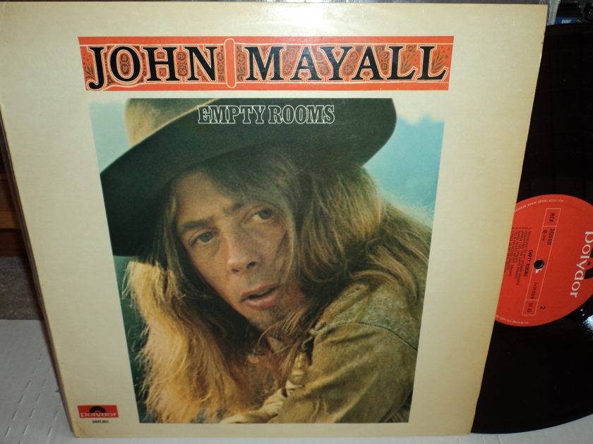 "John Mayall German Import LP - ""Empty Rooms""  Polydor"