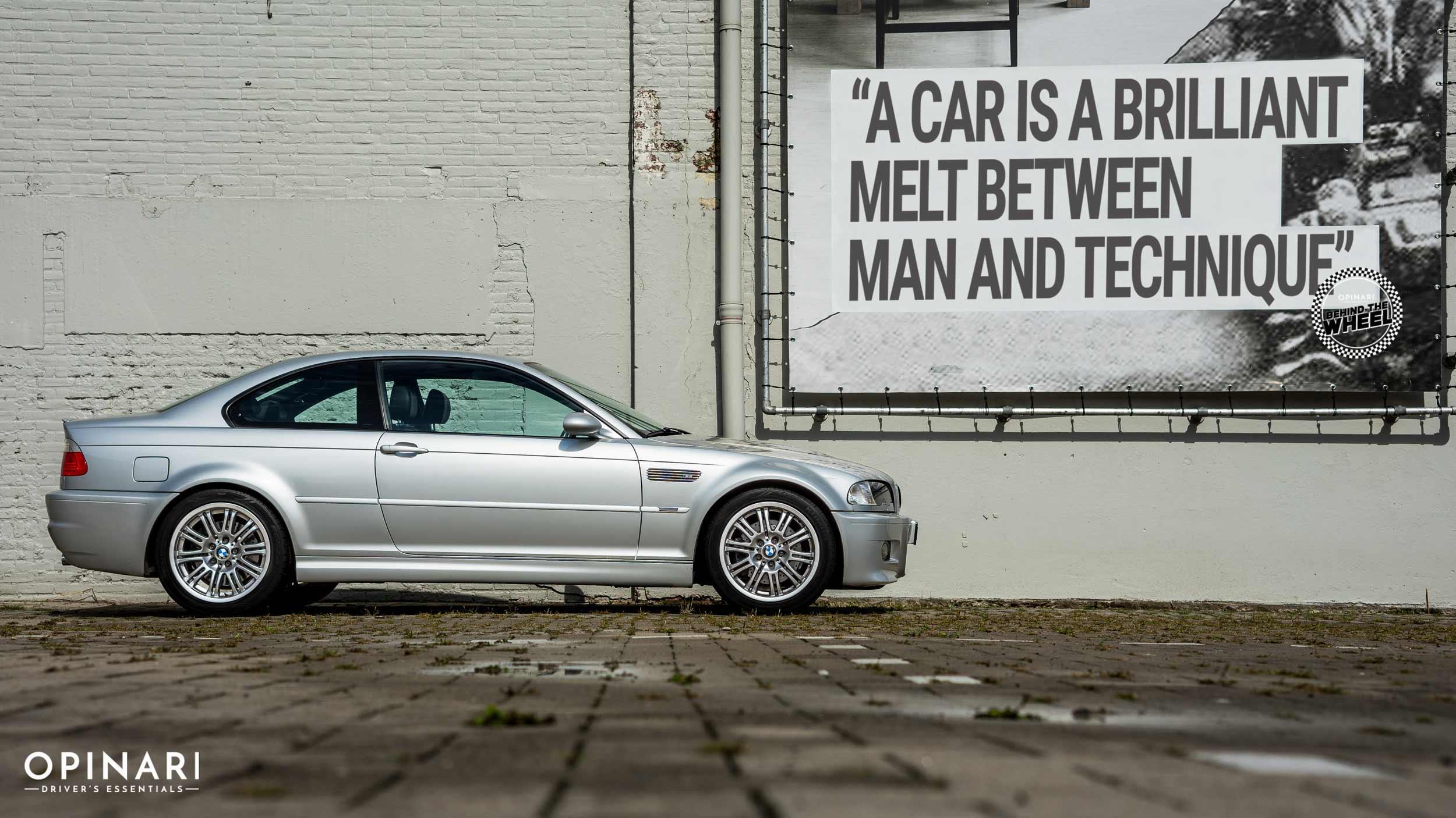 BMW M3 E46 side