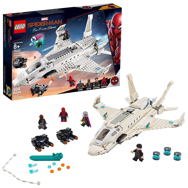 LEGO stark jet the drone attack