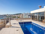 Penthouse for sale on the Paseo Maritimo overlooking the port of Palma