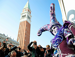 Everything ready for the Venice Carnival 2019!