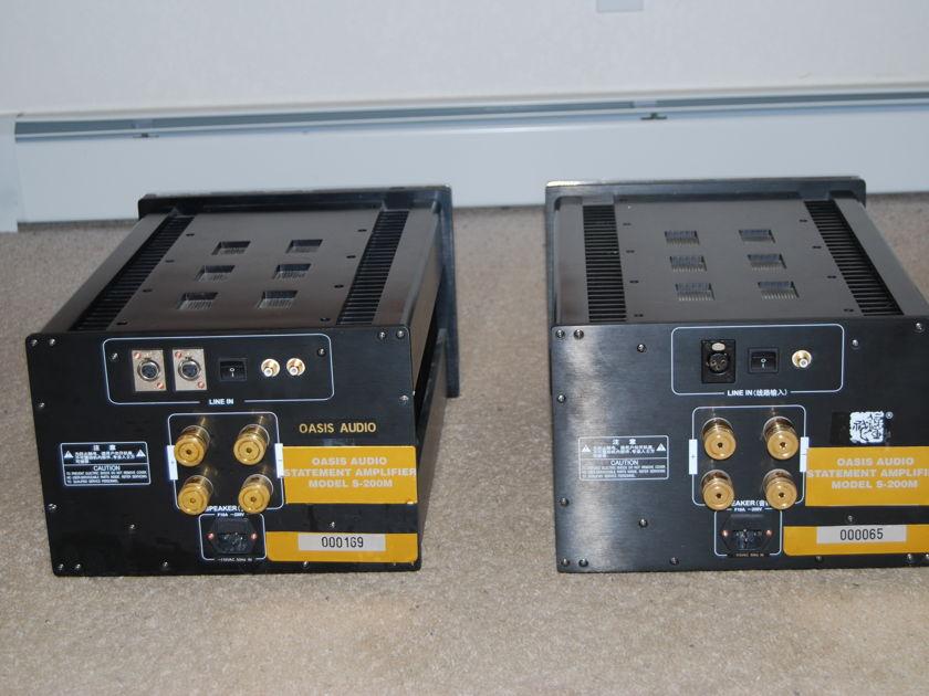 Oasis S-200  Monoblock amplifier