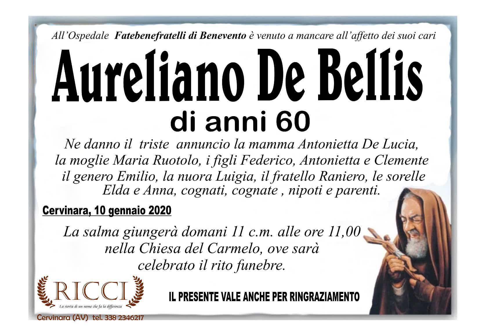 Aureliano De Bellis