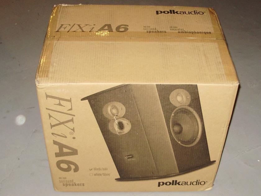 Polk Audio FXi A6   Surround Sound Speakers Brand New,Killer surrounds
