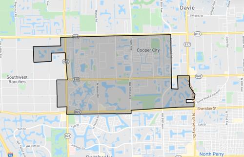 skyview of Cooper City