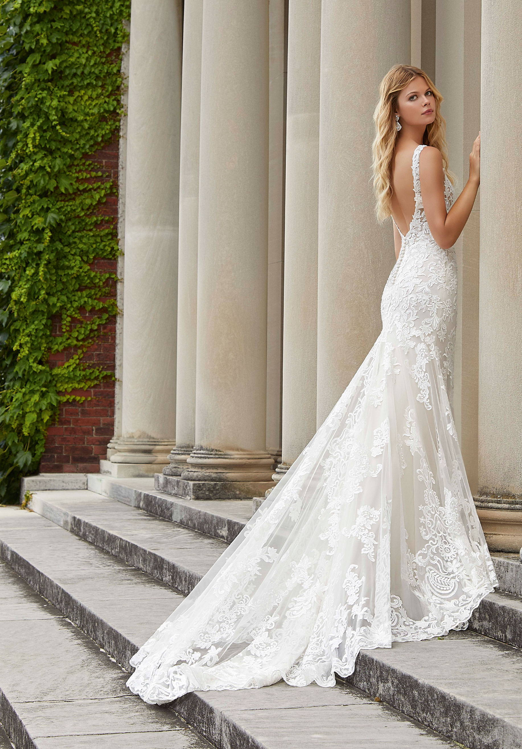 MORI LEE  WEDDING DRESS 2039