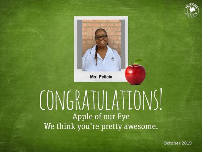 Ms. Felicia