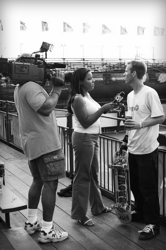 Doug Brown AST Dew Tour TV Interview 2007